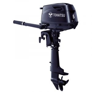 Tohatsu 5 HP MFS5DL Outboard Motor