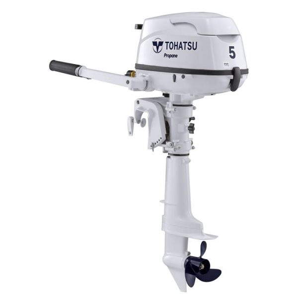 Tohatsu 5 HP MFS5DLPGS Propane Outboard Motor