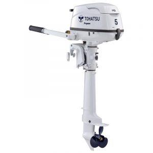 Tohatsu 5 HP MFS5DLPGSPROUL-SAIL PRO Propane Outboard Motor
