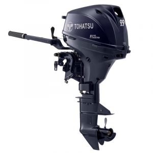 Tohatsu 9.9 HP MFS9.9EEFL Outboard Motor