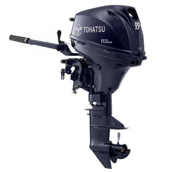 Tohatsu 9.9 HP MFS9.9EL Outboard Motor