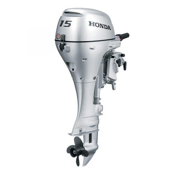 2021 HONDA 15 HP BF15D3SHT Outboard Motor