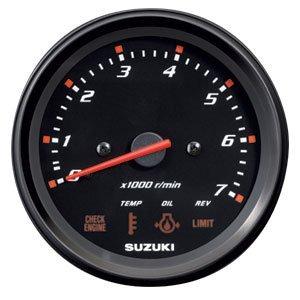 Suzuki 4″ Multifunction Tachometer Monitor Gauge 34200-93J02
