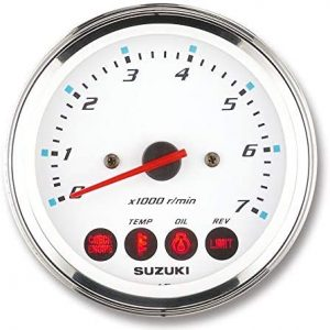 Suzuki 4″ Multifunction Tachometer With Monitor 990C0-80101