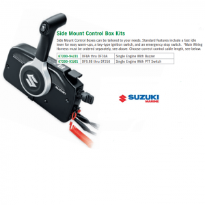 Suzuki Side Mount Control Box Kits