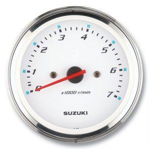 "Suzuki 4"" White Face Tachometer 34200-93J34"